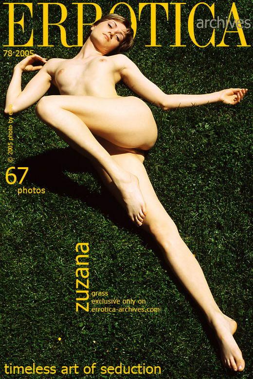 Zuzana in Grass gallery from ERROTICA-ARCHIVES by Erro