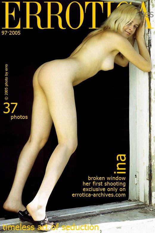 Ina in Broken Window gallery from ERROTICA-ARCHIVES by Erro