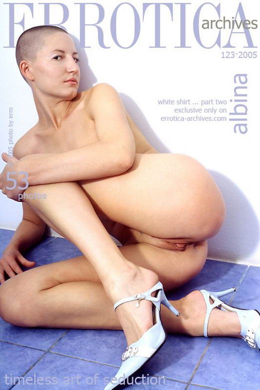 Albina in White Shirt ... Part Two gallery from ERROTICA-ARCHIVES by Erro