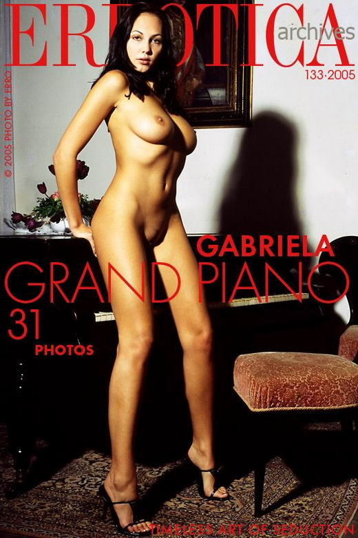 Gabriela in Grand Piano gallery from ERROTICA-ARCHIVES by Erro