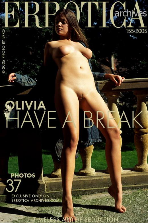 Olivia in Have A Break gallery from ERROTICA-ARCHIVES by Erro