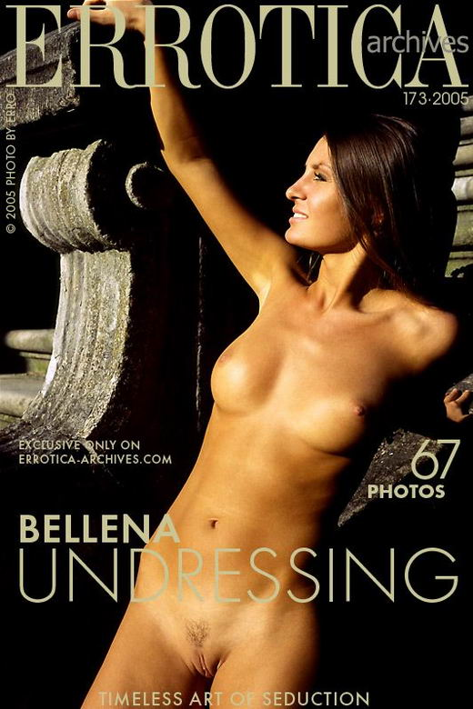 Bellena in Undressing gallery from ERROTICA-ARCHIVES by Erro