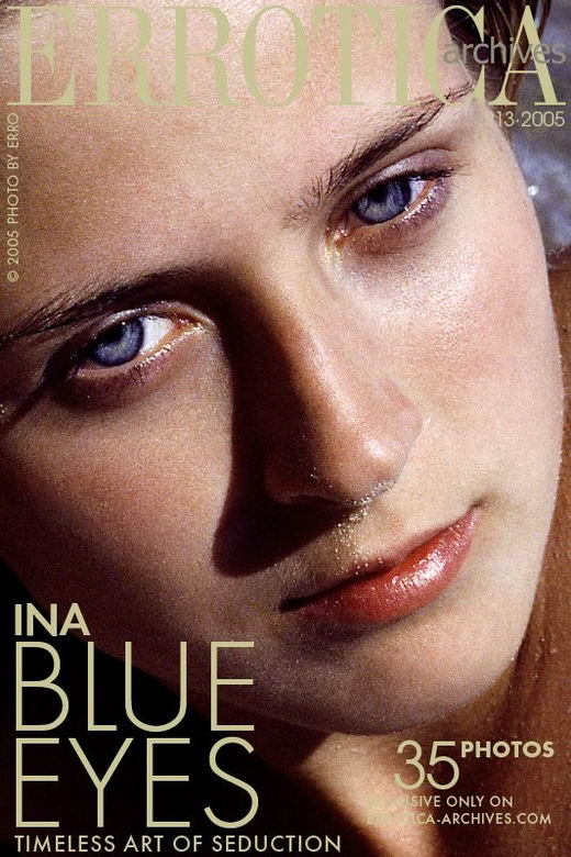 Ina in Blue Eyes gallery from ERROTICA-ARCHIVES by Erro