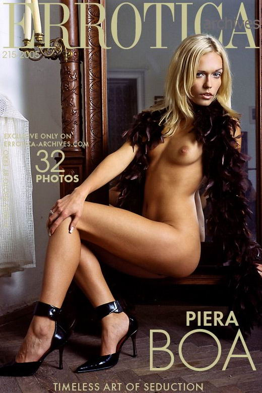 Piera in Boa gallery from ERROTICA-ARCHIVES by Erro
