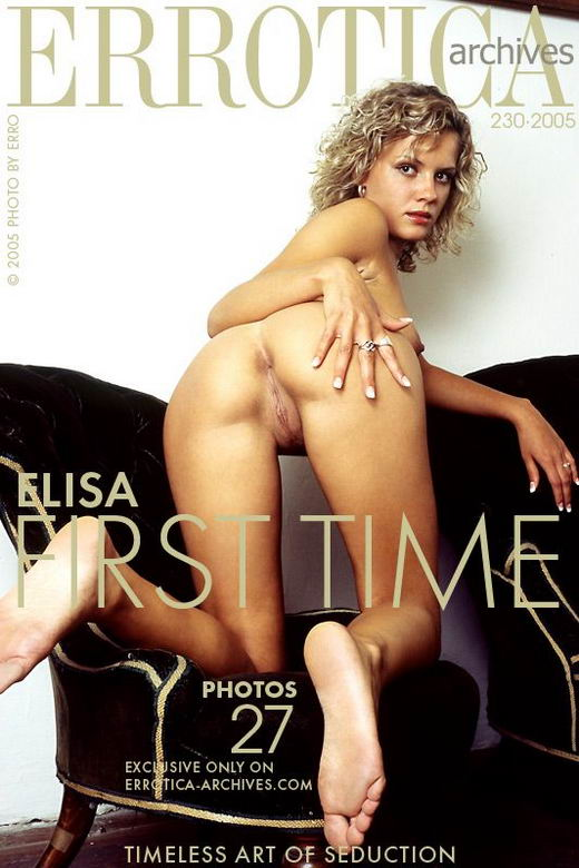 Elisa in First Time gallery from ERROTICA-ARCHIVES by Erro