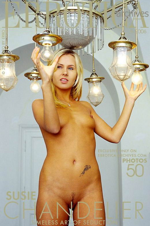Susie in Chandelier gallery from ERROTICA-ARCHIVES by Erro