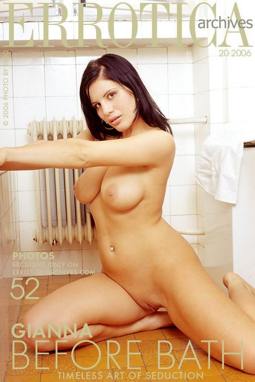 Gianna in Before Bath gallery from ERROTICA-ARCHIVES by Erro