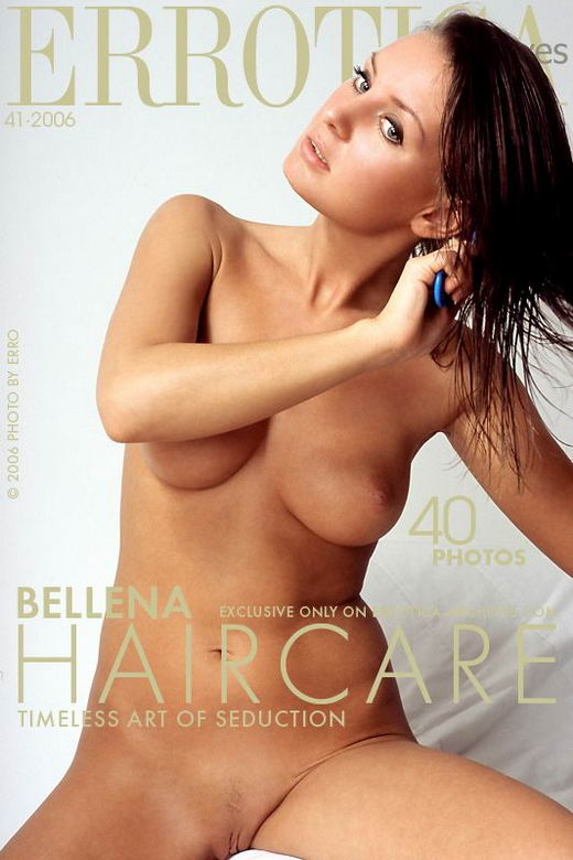 Bellena in Haircare gallery from ERROTICA-ARCHIVES by Erro