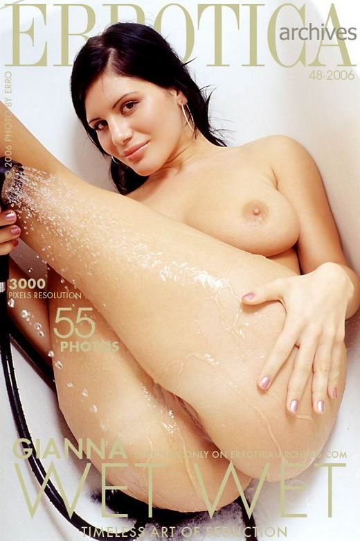 Gianna in Wet Wet gallery from ERROTICA-ARCHIVES by Erro