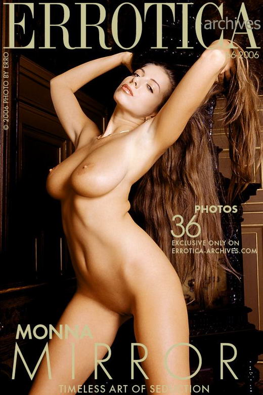 Monna in Mirror gallery from ERROTICA-ARCHIVES by Erro
