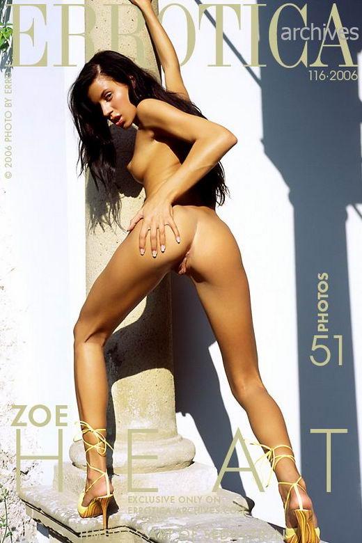 Zoe in Heat gallery from ERROTICA-ARCHIVES by Erro