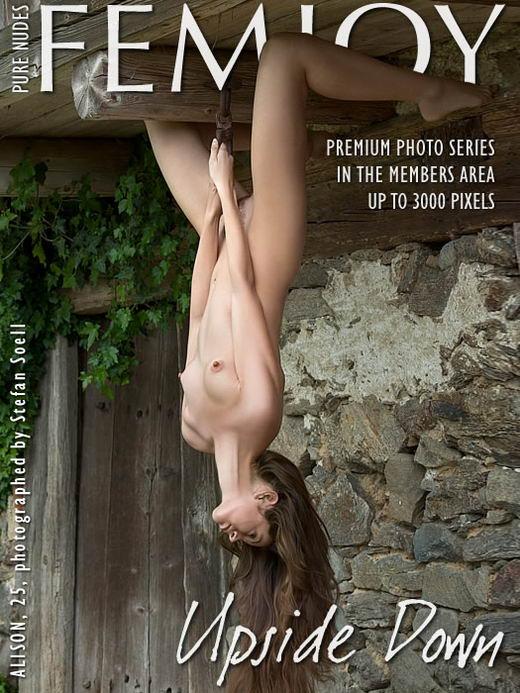Alison in Upside Down gallery from FEMJOY ARCHIVES by Stefan Soell