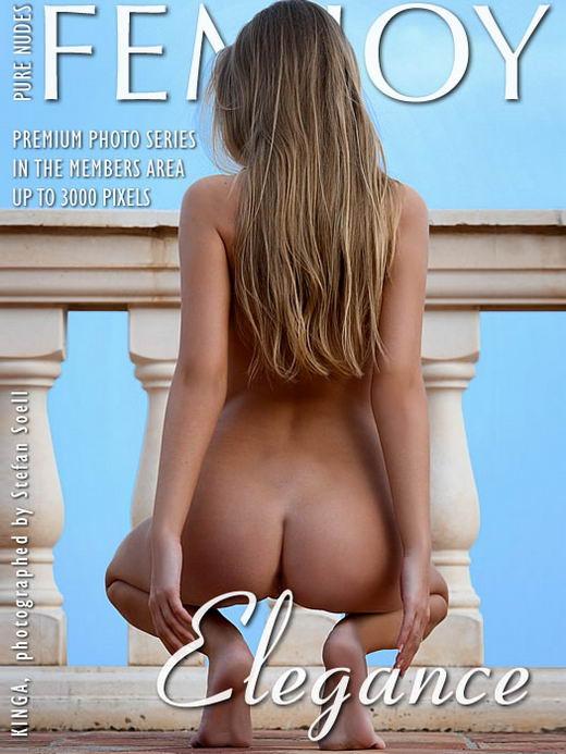 Kinga in Elegance gallery from FEMJOY ARCHIVES by Stefan Soell