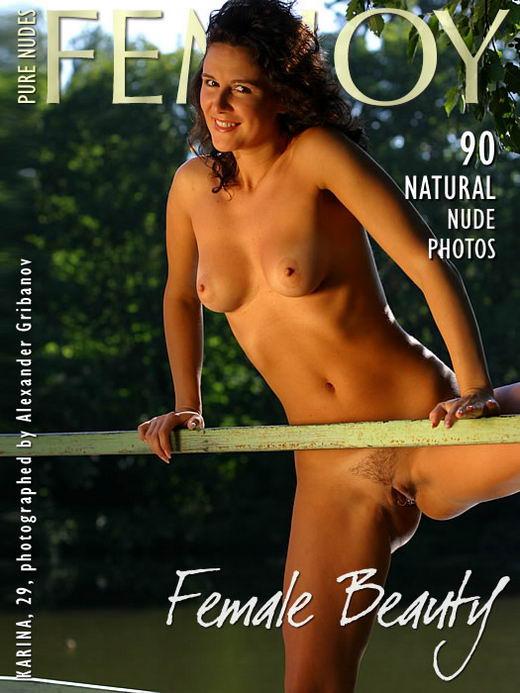 Karina in Female Beauty gallery from FEMJOY ARCHIVES by Alexander Gribanov