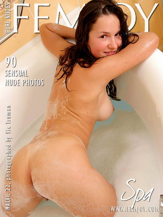 Malvi in Spa gallery from FEMJOY ARCHIVES by Vic Truman