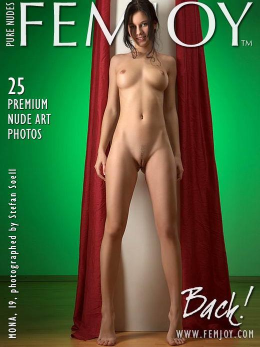 Mona in Back gallery from FEMJOY ARCHIVES by Stefan Soell