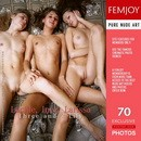 Inez & Larissa & Lucille in Three and a Lily gallery from FEMJOY by Romanoff
