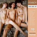 Lucille, Inez, Larissa in Three and a Lilly gallery from FEMJOY by Romanoff