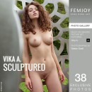 Vika A in Sculptured gallery from FEMJOY by Stefan Soell