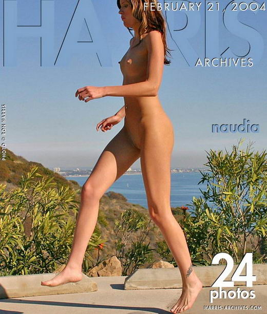 Naudia in Running In Malibu gallery from HARRIS-ARCHIVES by Ron Harris