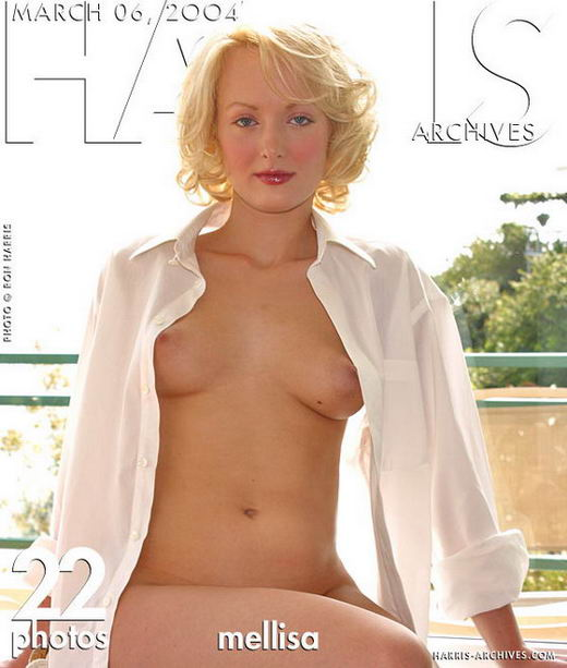Melissa in White Shirt gallery from HARRIS-ARCHIVES by Ron Harris