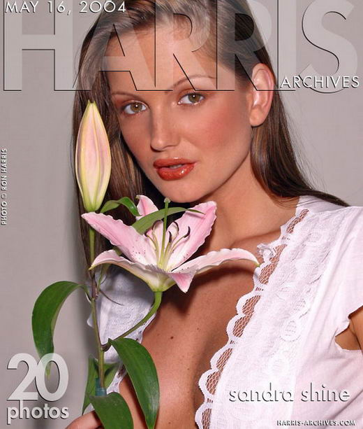 Sandra Shine in Flower gallery from HARRIS-ARCHIVES by Ron Harris