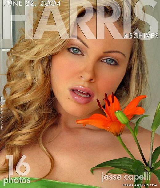 Jesse in Orange Lily gallery from HARRIS-ARCHIVES by Ron Harris