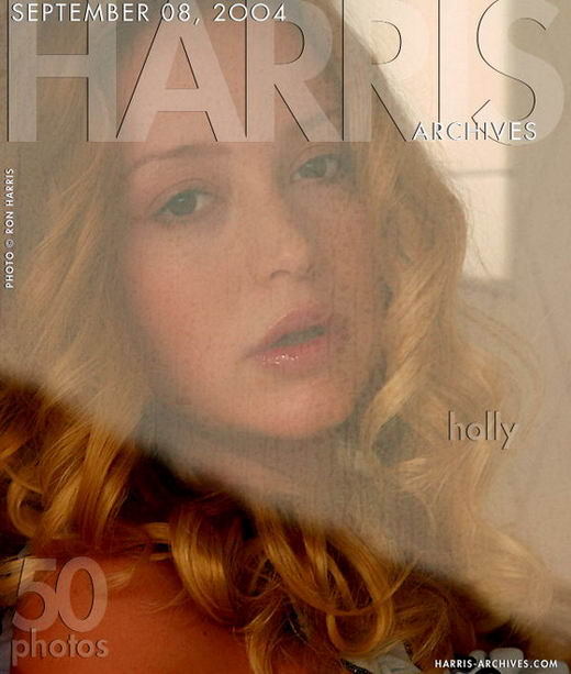 Holly in Shower gallery from HARRIS-ARCHIVES by Ron Harris