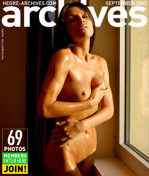 Kasha in Oiled gallery from HEGRE-ARCHIVES by Petter Hegre