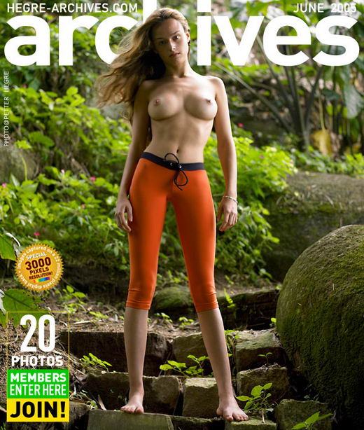 Gislane in Orange Tights gallery from HEGRE-ARCHIVES by Petter Hegre