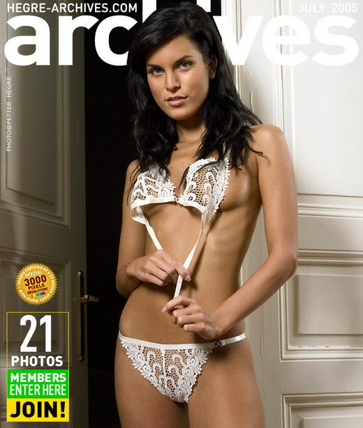 Mirta in White Lingerie gallery from HEGRE-ARCHIVES by Petter Hegre