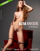 Alya in #227 - Knickers video from HEGRE-ART VIDEO by Petter Hegre