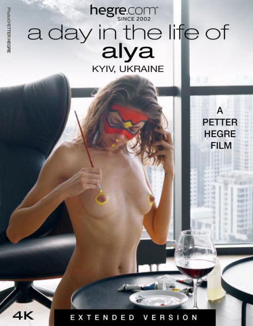 A Day In The Life Of Alya - Extended Version video from HEGRE-ART VIDEO by Petter Hegre