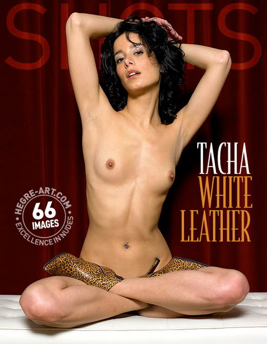 Tacha in White Leather gallery from HEGRE-ART by Petter Hegre