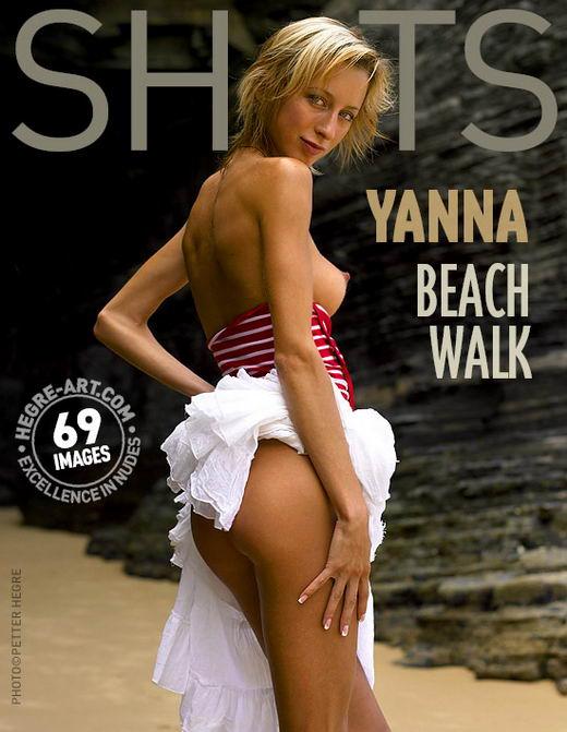 Yanna in Beach Walk gallery from HEGRE-ART by Petter Hegre