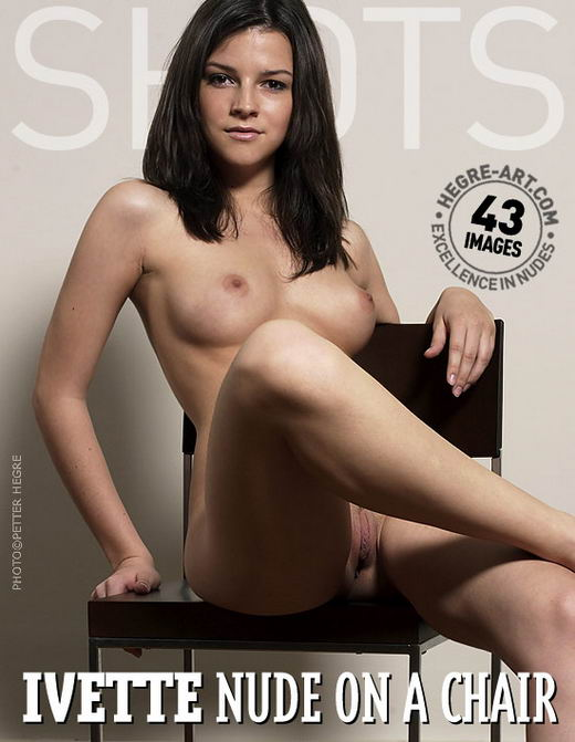 Ivette in Nude On A Chair gallery from HEGRE-ART by Petter Hegre