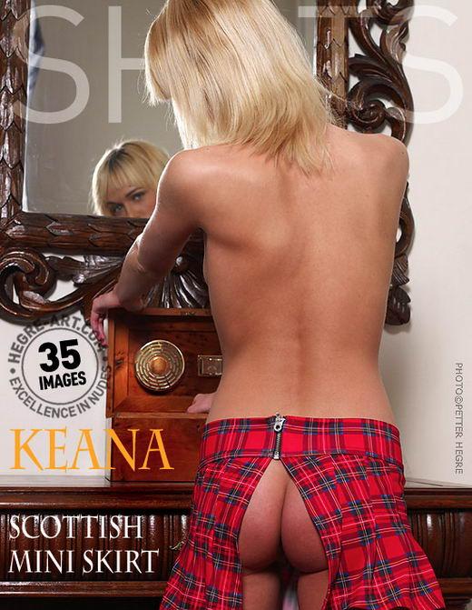 Keana in Scottish Mini Skirt gallery from HEGRE-ART by Petter Hegre