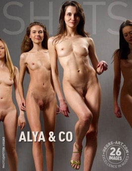 Alya & Alya Leon  from HEGRE-ART
