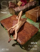 Alya in Home Nudes gallery from HEGRE-ART by Petter Hegre