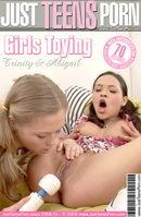 Girls Toying