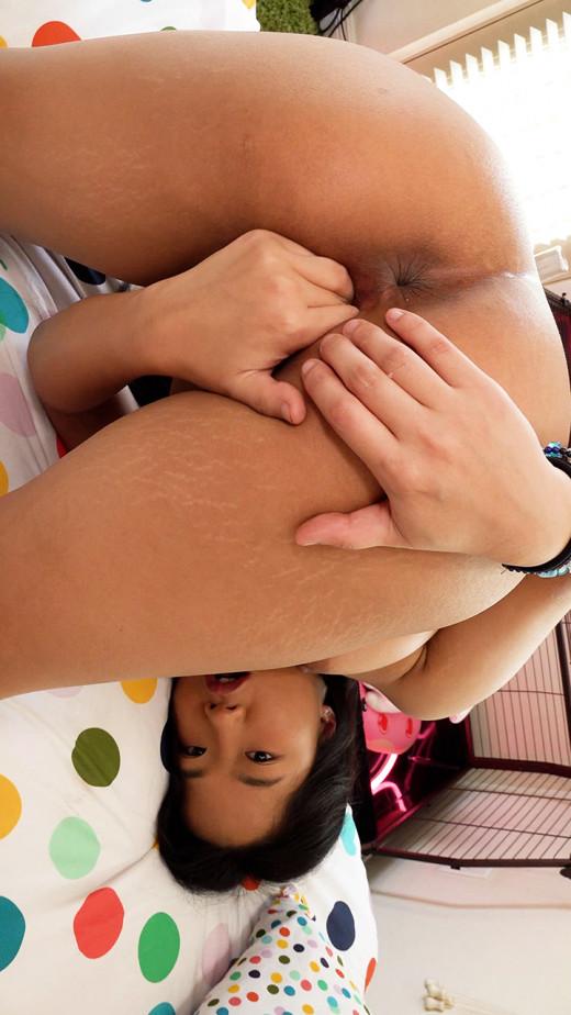 Alona Bloom in Little Asian Teen video from KARUPSPC