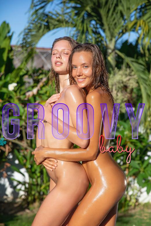 Katya Clover & Clarice in Groovy Baby gallery from KATYA CLOVER