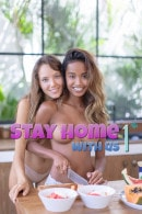 Katya Clover & Putri Cinta in Stay Home With Us - Vol 1 gallery from KATYA CLOVER