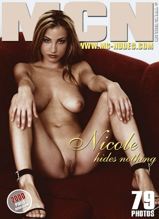 Nicole in She Hides Nothing gallery from MC-NUDES