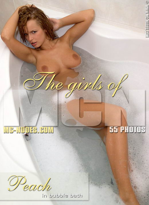 Peach In Bubble Bath gallery from MC-NUDES