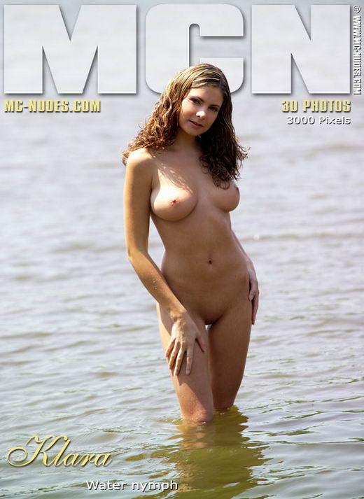Klara in Water Nymph gallery from MC-NUDES