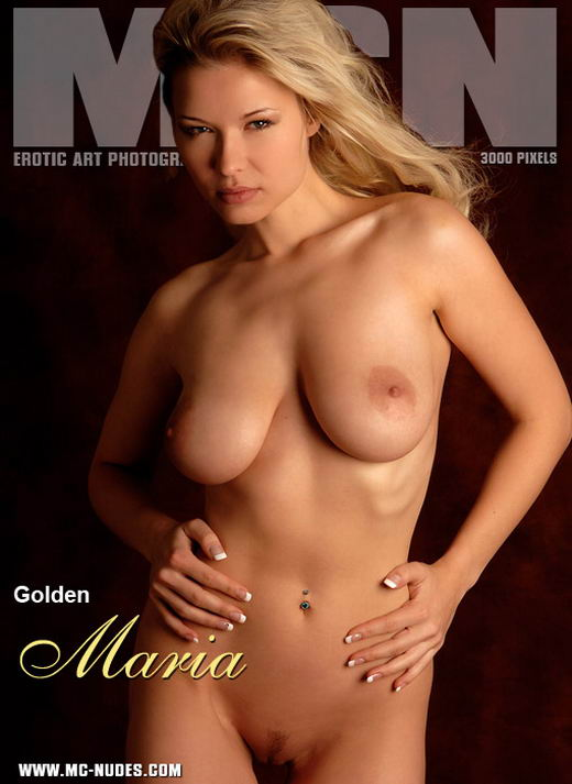 Maria in Golden gallery from MC-NUDES