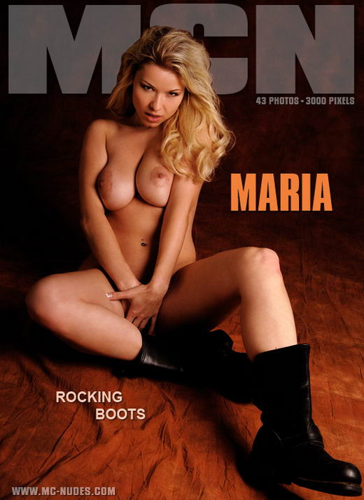 Maria in Rocking Boots gallery from MC-NUDES