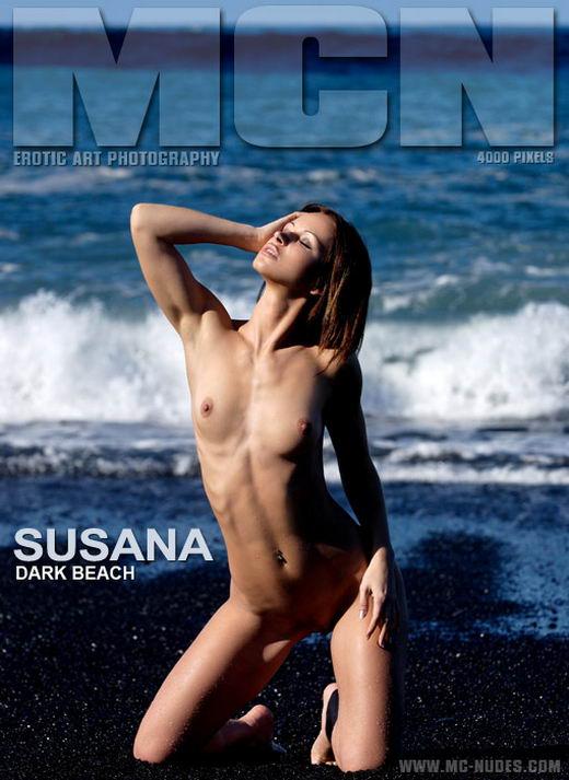 Susana in Dark Beach gallery from MC-NUDES