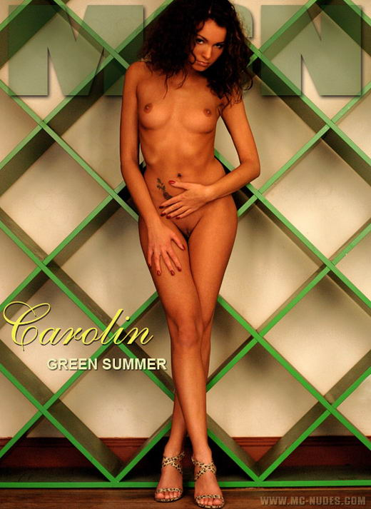 Carolin in Green Summer gallery from MC-NUDES